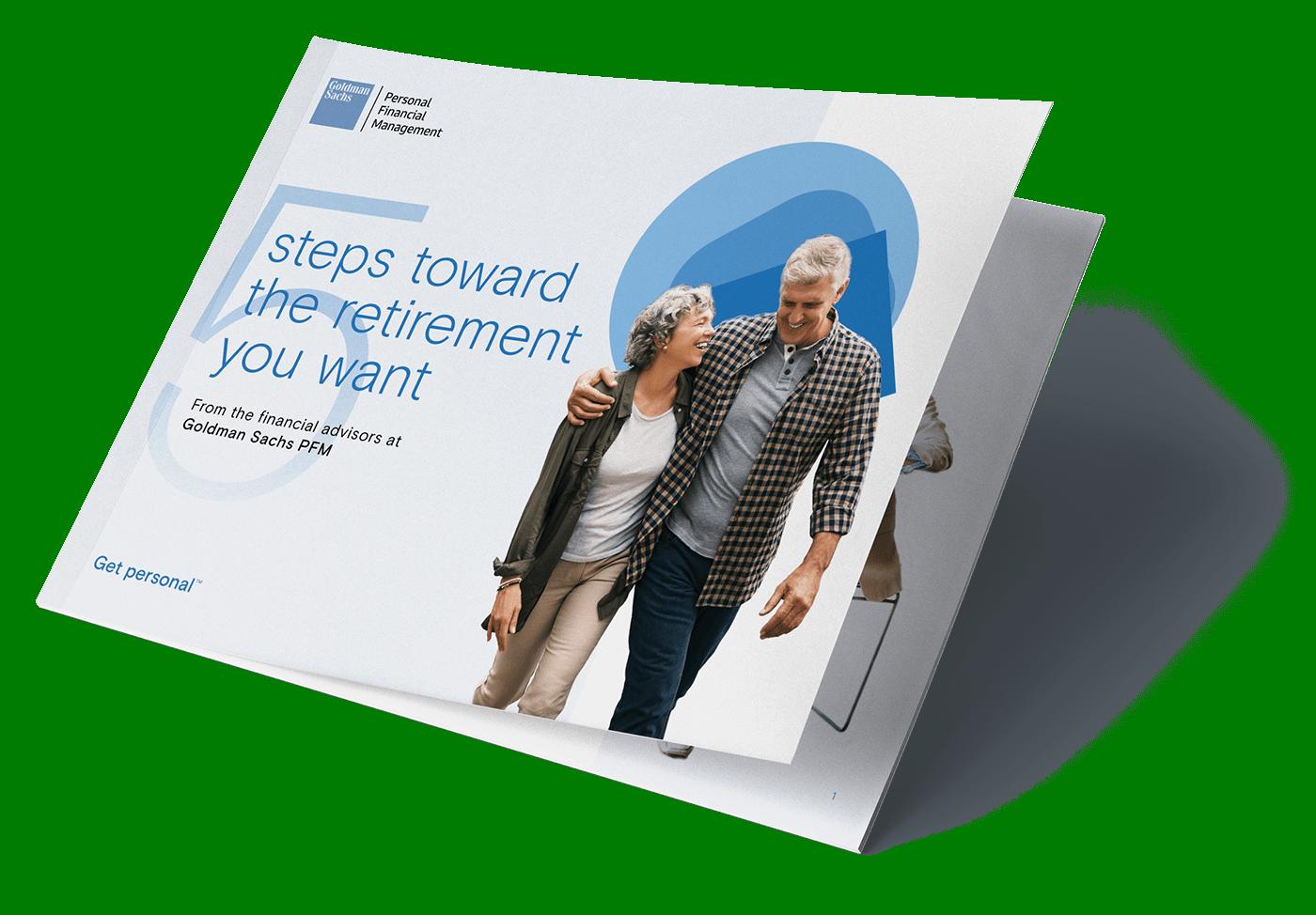 GS PFM Retirement Guide landing page 1